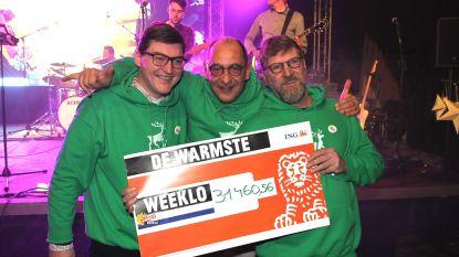 """Warmste Weeklo brengt 31.460,56 euro op voor goede doel: """"Bloed, zweet en tranen, maar dolgelukkig"""""""