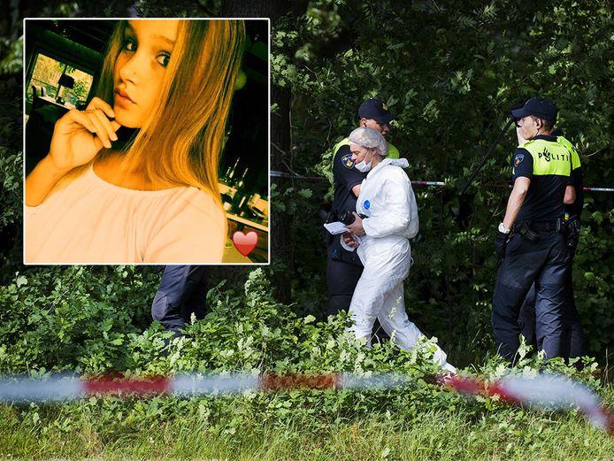 Het lichaam van de 14-jarige Romy Nieuwburg werd gisteren in Achterveld aangetroffen.