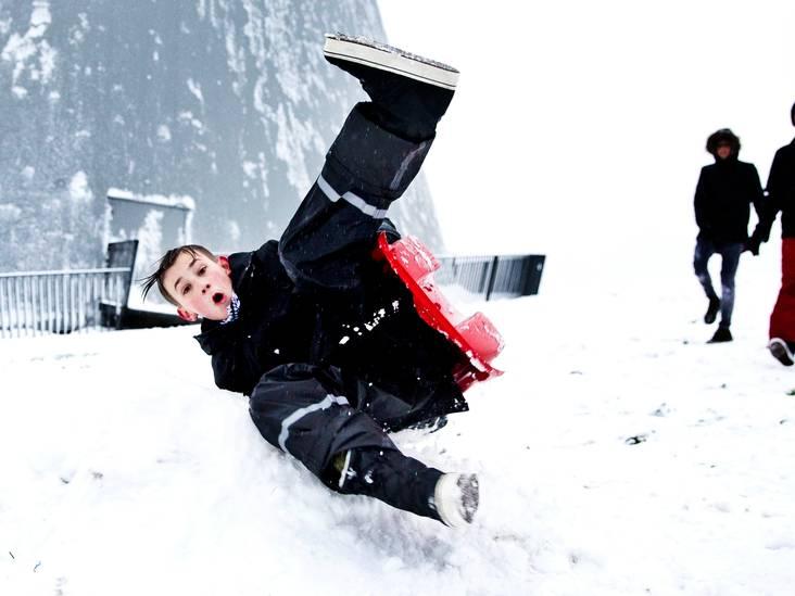 Deze sneeuwfoto's moet je gezien hebben