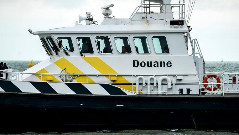 Een speurhond vond de lading vorige week dinsdag in de haven van Vlissingen. Beeld anp