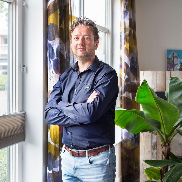 Fysiotherapeut Michiel Boerendonk. Beeld Pauline Niks