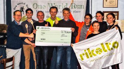 Atletiekclub WIBO geeft 1.086 euro aan Rikolto