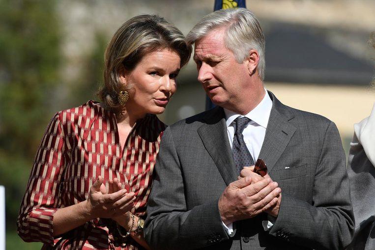 Onze vorsten Mathilde en Filip