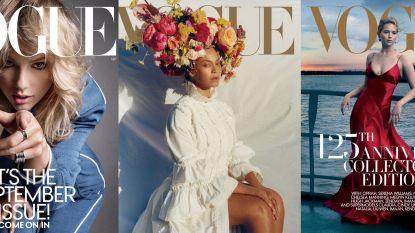 Verminderde advertenties en gecancelde fotoshoots: hebben septembernummers van Vogue en andere modebladen straks een lege cover?