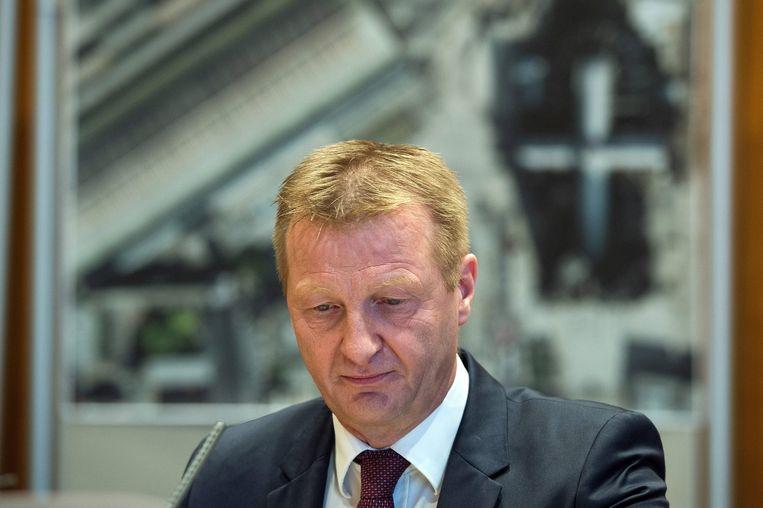 Deelstaatminister van binnenlandse zaken in Noord-Rijnland-Westfalen, Ralf Jäger. Beeld epa