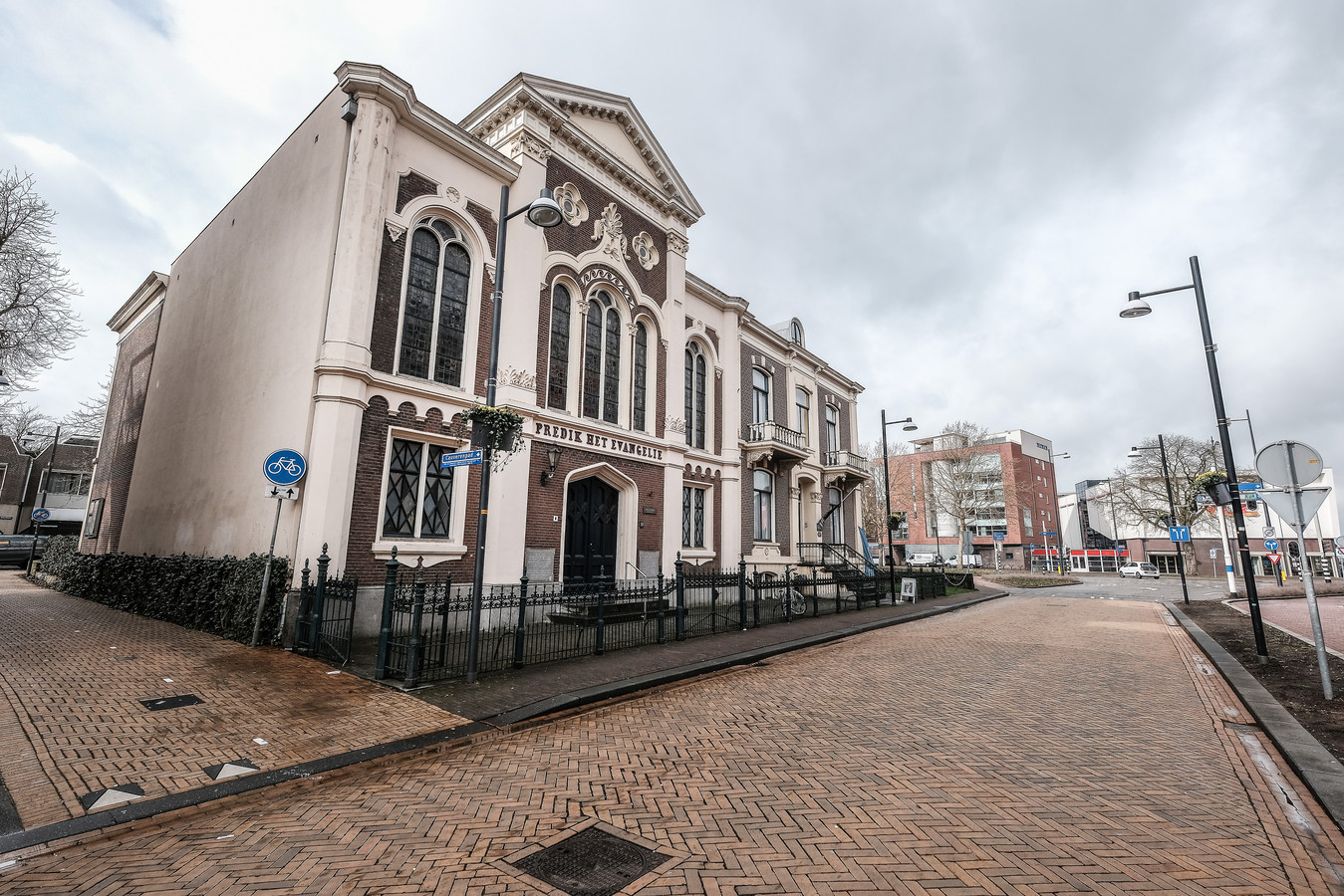 De Baptistenkapel, beter bekend als Het Nieuwe Dijkhuis. Foto: Jan van den Brink