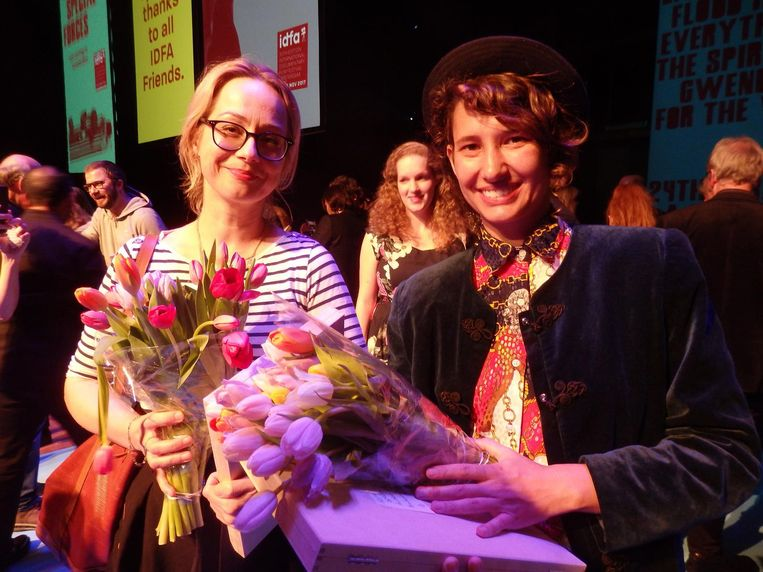 Astrid Bussink (Jury Award voor kinderdocumentaire Listen) en Denise Kelm Soares (studentaward voor I Am). Het gaat weer wat beter met haar Beeld Schuim