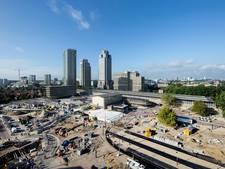 Werk bij Amstelstation bijna klaar