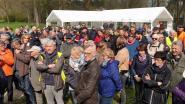 Massale opkomst voor sponsorwandeling om Markvallei te redden van megastal