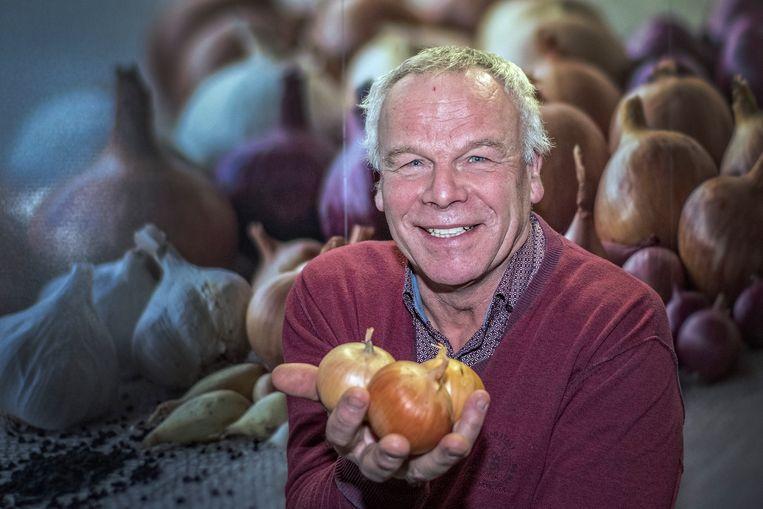 Uienboer Jaap de Zeeuw: 'Een ui moet je koesteren' Beeld Patrick Post