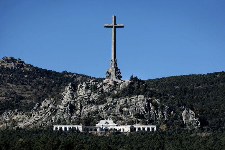 De Vallei van de Gevallenen, waar Sánchez-Albornoz nooit is teruggeweest. Vandaag is de 43ste sterfdag van Franco.  Beeld null