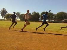 Valentijn Weinans in topvorm voor NK Indoor na training in Kenia