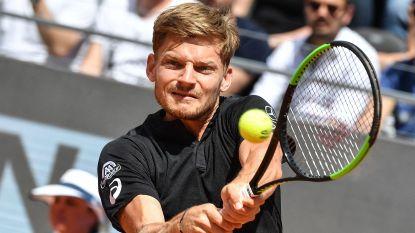 Goffin stoot door in Rome na winst tegen Wawrinka - Serena Williams geblesseerd