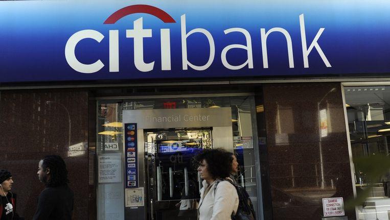 Kantoor Citibank in New York. Beeld EPA