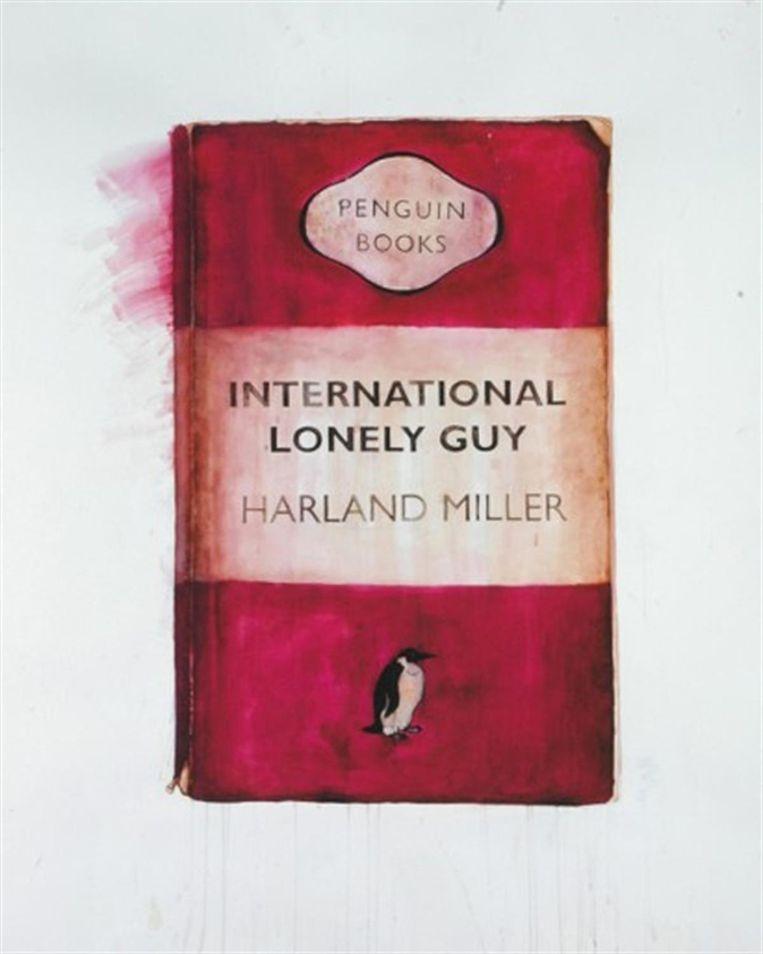 International lonely guy, Harland Miller. Beeld
