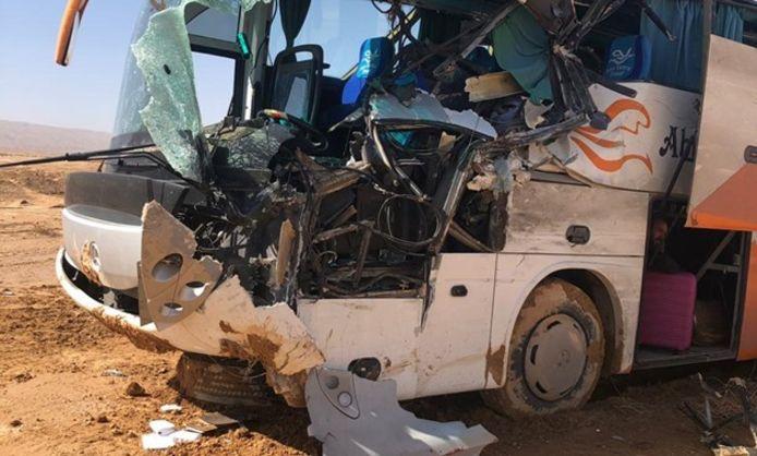 Bij een busongeluk zijn meerdere toeristen omgekomen