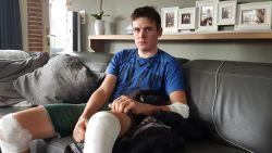 """""""Ik fietste voorop en stak het kruispunt als eerste over"""": Jonas worstelt met schuldgevoel na ongeval dat Stef Loos (19) het leven kostte"""