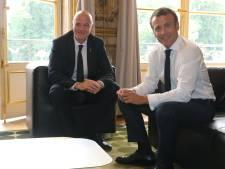 FIFA-baas Infantino op bezoek bij Franse president