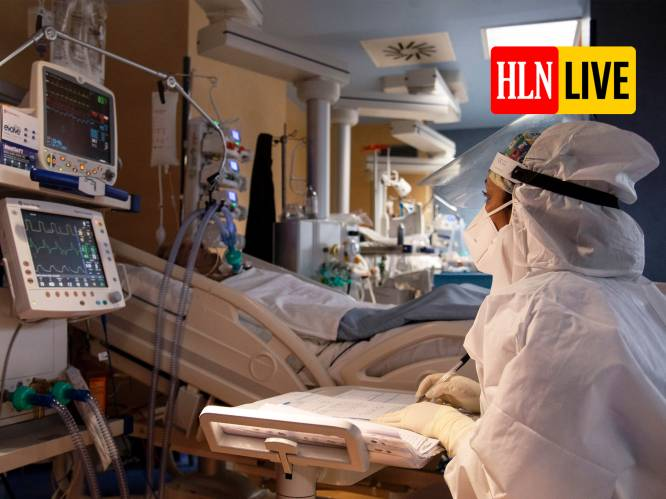 OVERZICHT. Minder dan 5.000 Covid-patiënten in Belgische ziekenhuizen