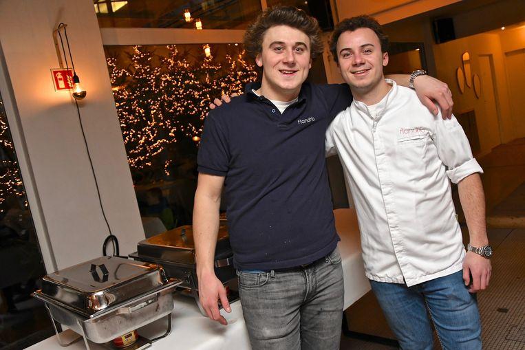 Louis en Jan-Willem Pauwelyn bezorgden 100 minderbedeelden een fantastisch kerstfeest.