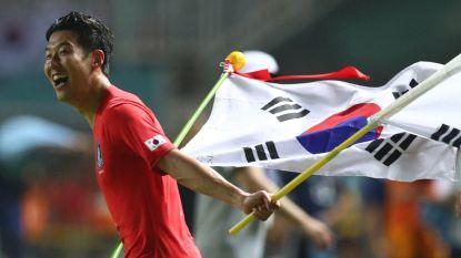 FT buitenland. Zuid-Korea wint Asian Games waardoor Tottenham-aanvaller niet het leger in moet - Vijfde Chinese goal voor Carrasco - Atlético Madrid pijnlijk onderuit na blunder Godin