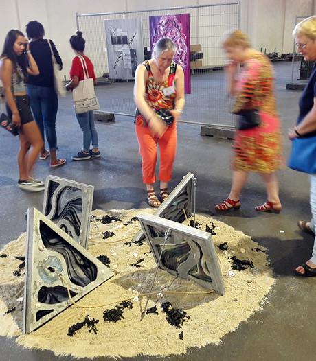 Expositie in Suikerentrepot in Standdaarbuiten, 'Deze ruimte is de hoofdprijs'