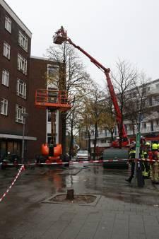 Acht woningen ontruimd door brand in Rösener Manszstraat