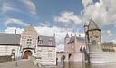 Kasteel Heeswijk met links het poortgebouw is een van de Brabantse Juweeltjes in Bernheze.