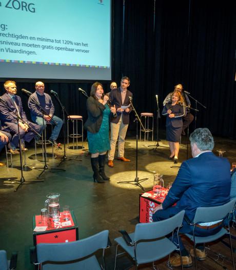 Geen felle strijd in debat: Vlaardingse lijsttrekkers lachen met elkaar