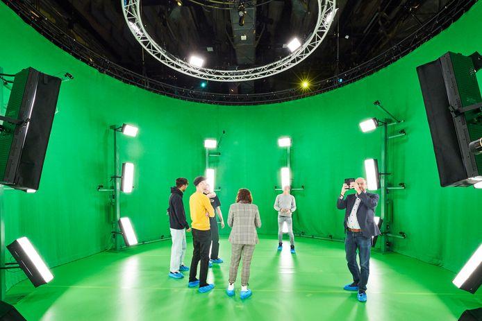 3D-filmstudio in de Effenaar in Eindhoven.