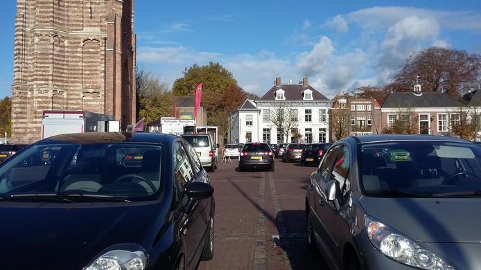 Het Petrus Dondersplein in Sint-Michielsgestel.