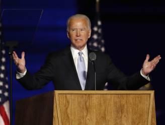 """Biden geeft overwinningsspeech: """"Laat ons het land zijn dat we kunnen zijn: verenigd, gesterkt en genezen"""""""