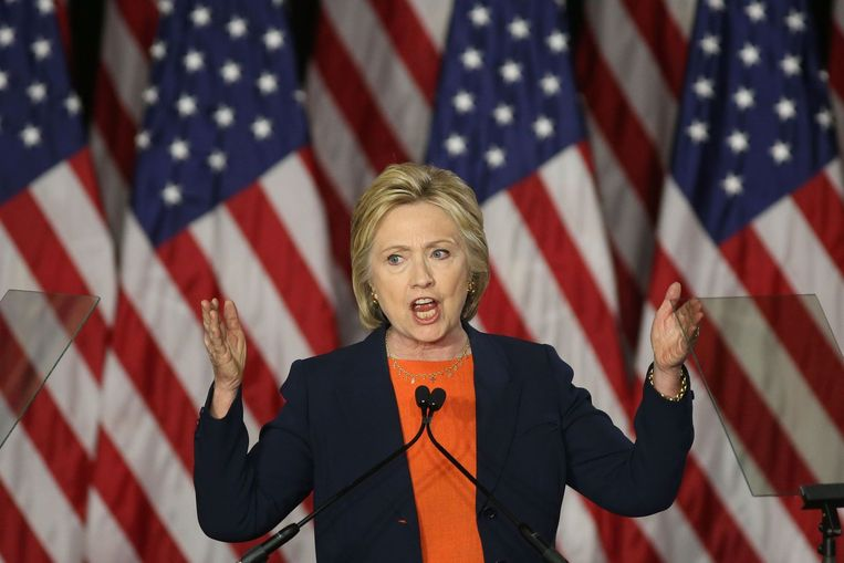Hillary Clinton Beeld anp