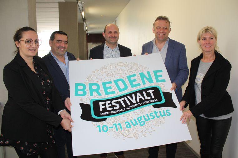 Het gemeentebestuur van Bredene presenteert Bredene Festivalt als opvolger van Afro C