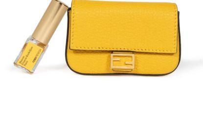 Modehuis Fendi brengt een geparfumeerde handtas uit