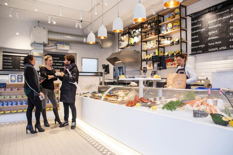 The Seafood shop Beeld Carly Wollaert