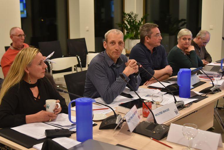 Raadslid Wouter Bracke (VB) steunde het voorstel van Sp.a raadslid Jan Tondeleir.