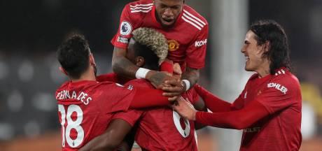 Grâce à Cavani et Pogba, Manchester United reprend la tête du classement