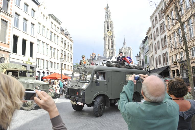 De Bevrijdingsfeesten worden in Antwerpen elk jaar gehouden.