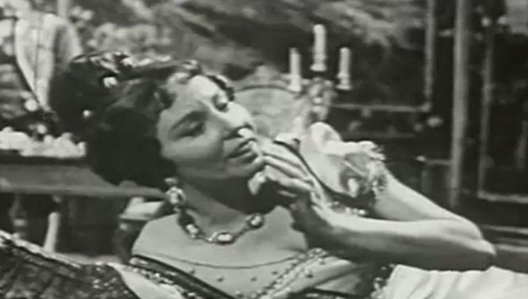 Magda Olivera op beelden van de Italiaanse krant La Republicca. Beeld Screenshot La Republicca