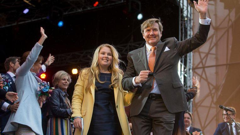 Koning Willem Alexander Viert 51ste Verjaardag In Groningen De