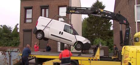 Het dodelijke busje duikt op in Heerlen en blijkt witte Opel