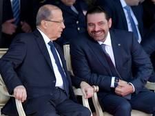 Libanese premier Hariri stelt aftreden uit