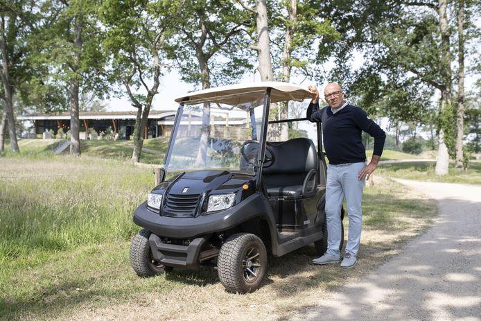 De kans dat er een volwaardig restaurant bij de golfbaan komt lijkt ver weg. Eigenaar Frank Agterbos gaat daar niet mee akkoord.