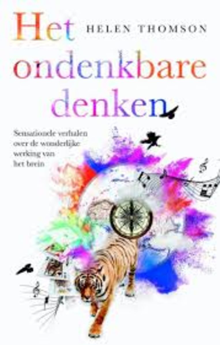 Cover van Helen Thomsons 'Het ondenkbare denken'. Beeld