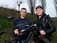 Hoe is het nu met de voor het goede doel fietsende vader en zoon Van Burgsteden? 'Bo bleek veel fitter dan ik'