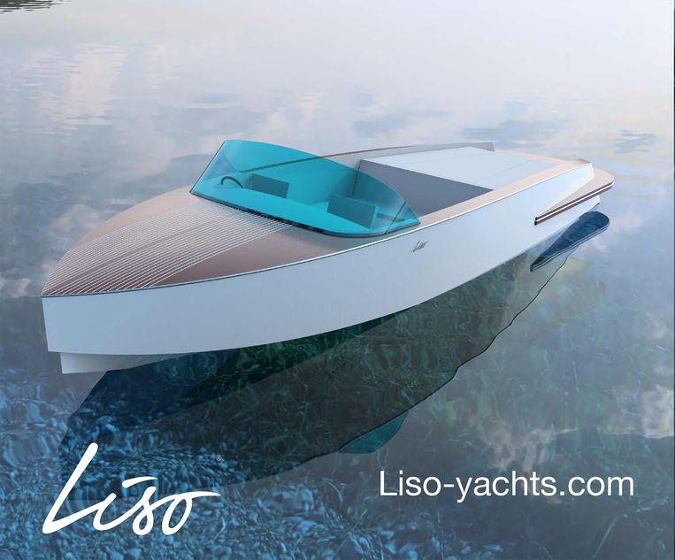 De Aquamare 750 - prijs: 170.000 euro - moet volgend jaar rondvaren. Je haalt er vlot 80 à 100 km/u mee.