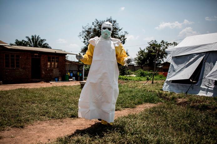Maatregelen tegen ebola eerder deze zomer in Congo