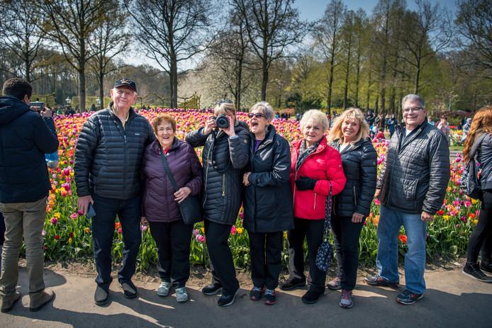 Ook Amerikanen zijn dol op de Nederlandse bloemenpracht.