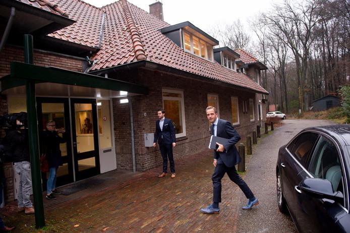 Minister Hugo De Jonge was begin deze maand op bezoek bij De Hoenderloo Groep.